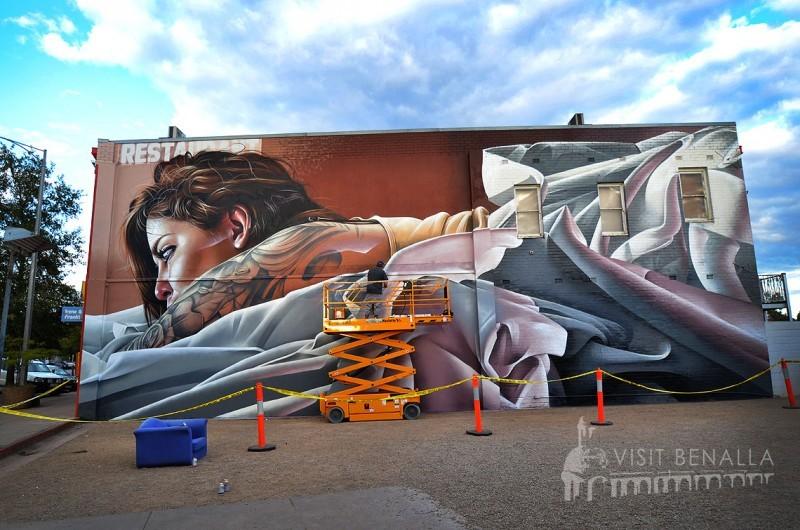 Benalla Street Art Explore Benalla Visit Benalla