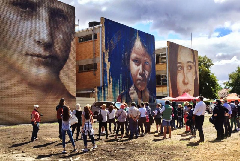 Visit Benalla Tours - Benalla Street Art Walking Tour